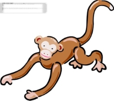 Q版中国传统12生肖申猴