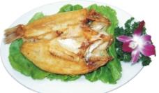 香煎自家咸鱼图片