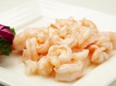 水晶虾仁图片
