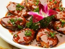 茄子蒸海蛎子图片