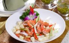 烧汁基围虾图片