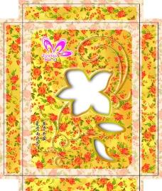 雨夜花丝绸盒图片