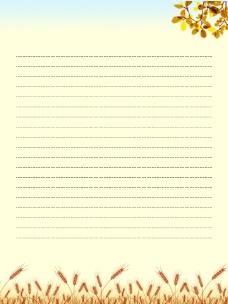网页背景信纸素材_秋_4图片
