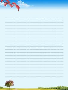 网页背景信纸素材_秋_3图片