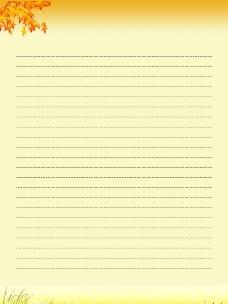 网页背景信纸素材_秋_5图片