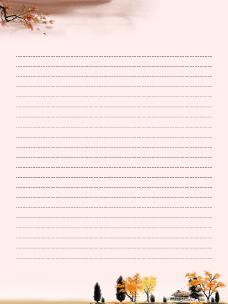 网页背景信纸素材_秋_02图片