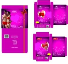 情侣内衣盒图片