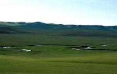 呼伦贝尔草原远景图片
