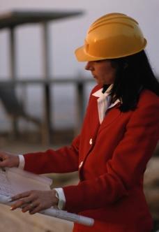 女性工作图图片