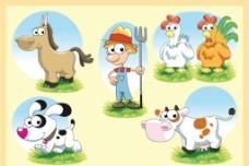 可爱农场系列图片