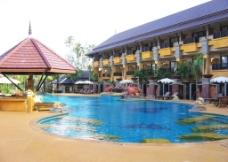 热带酒店风情图片