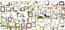 欧美照片素材框100P图片