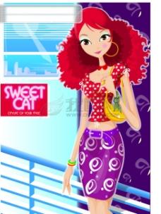 sweetcat时尚女孩