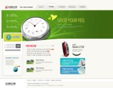 漂亮的韩国网页图片