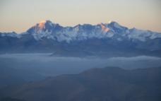 西藏 日喀则 珠峰 珠穆朗玛峰 夕阳 晚霞 晨光02图片