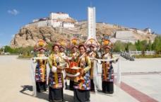 西藏 日喀则 江孜 江孜宗山04图片
