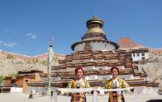 西藏 日喀则 江孜 江孜宗山02图片