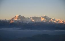西藏 日喀则 珠峰 珠穆朗玛峰 夕阳 晚霞 晨光01图片