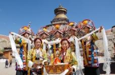西藏 日喀则 江孜 江孜宗山03图片