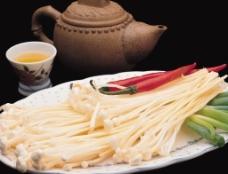 金针菇火锅料图片