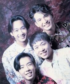 BEYOND乐队四人经典合影图片
