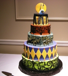 万圣节 蛋糕 主题 节日 庆祝 静物图片