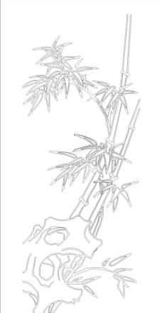 竹子图片画手绘
