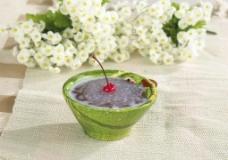 椰奶西米红豆泥图片