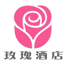 玫瑰酒店标志图片