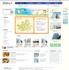 韩国楼盘模板图片