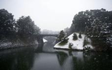 雪之西丸橋图片