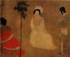 传世人物画图片