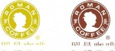 罗曼咖啡标志