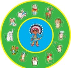 儿童时钟图片