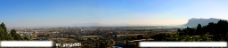 昆明西部全景图片