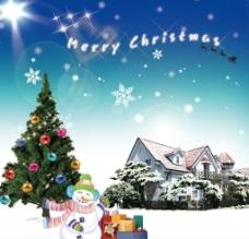 圣诞快乐 冬景图片