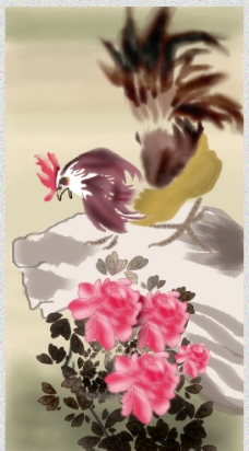 大公鸡图片