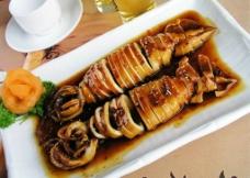 日式鱿鱼筒图片