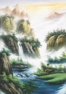 山水画(非高清)图片