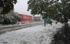 雪后郑州图片