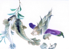 蔬果鲜鱼图片