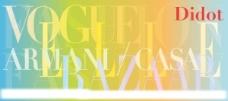 经典 didot 字体