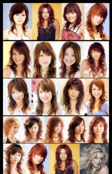 时尚发型图图片