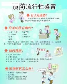 预防流感宣传广告图片