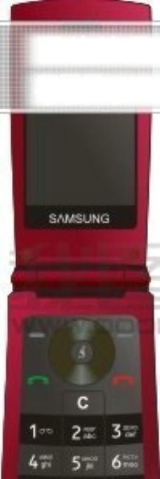 红色手机矢量图