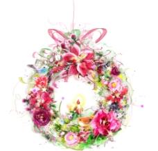 公主的花环图片