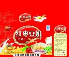 红枣豆奶图片