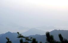 黄山早晨图片