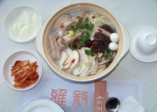 山菌砂锅图片