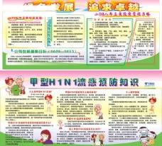 h1n1甲流感 绿色发展图片